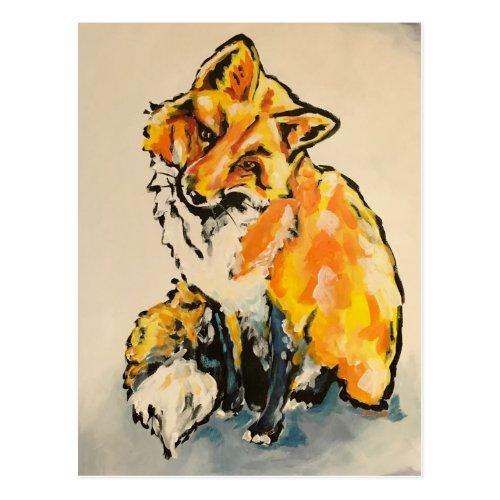 Cutest Fox Postcard