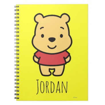 Cuties Winnie the Pooh - Personalized Notebook
