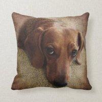 Dachshund Pillows - Decorative & Throw Pillows | Zazzle