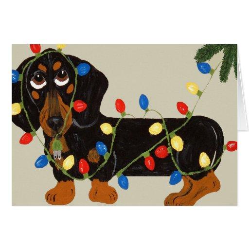 dachshund christmas cards - perfect