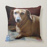 Dachshund Throw Pillow | Zazzle