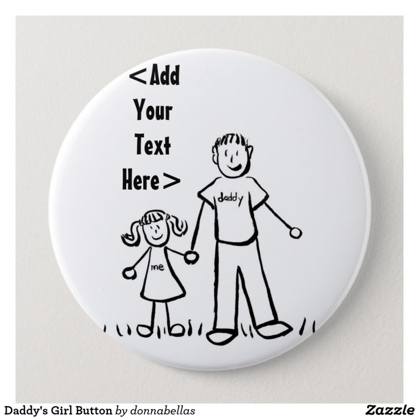 Daddy's Girl Button