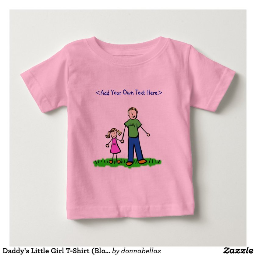 Daddy's Little Girl T-Shirt (Blond)