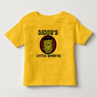Daddy's Little Monster T-shirts and Gifts