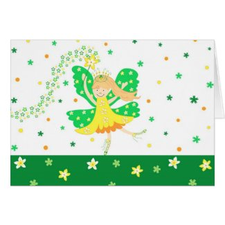 Daffodil fairy - Card card