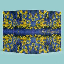 Daffodil Spring Fantasy Scrapbook binders