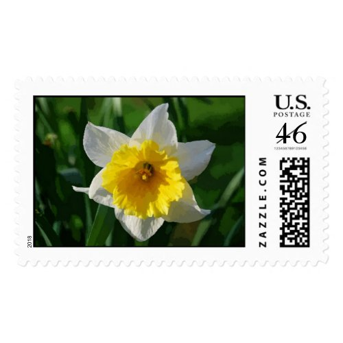 Daffodils Symbolize Renewal stamp