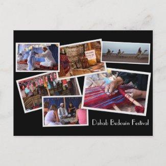Dahab Bedouin Festival postcard