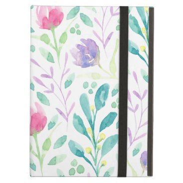 Dainty Florals in Watercolor Case For iPad Air