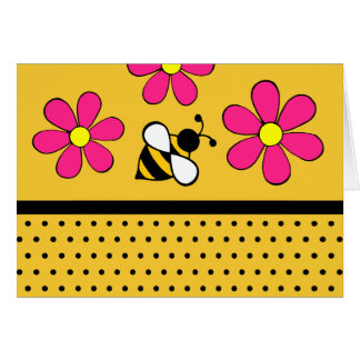 Daisy Bee Thank You Notecards