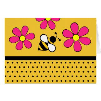 Daisy Bee Thank You Notecards