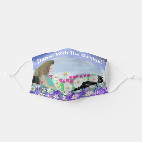 Dance With The Daisies Cloth Face Mask