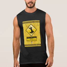 Dance Zone Ahead-Watch for Dancers Busting Moves! Sleeveless Shirt
