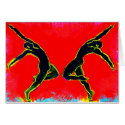 Dancers Arching card