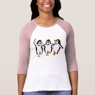 Dancing Penguins T Shirts