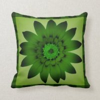 Dark Olive Green Pillows