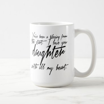 Daughter Blessing Coffee Mug