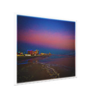 Dawn over the Daytona Beach Coast Line Canvas Prints