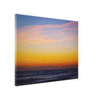 Day Brakes Over the Atlantic Ocean Canvas Print