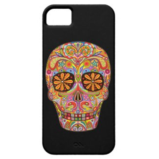 Day of the Dead Art iPhone 5 Case by Case-Mate iPhone 5 Case