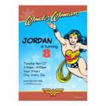 DC Comics | Wonder Woman Birthday Invitation
