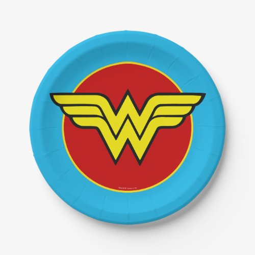 DC Comics | Wonder Woman Logo | Happy Birthday Paper Plate