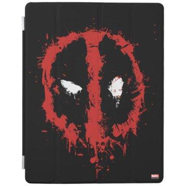 Deadpool Paint Splatter Logo iPad Smart Cover