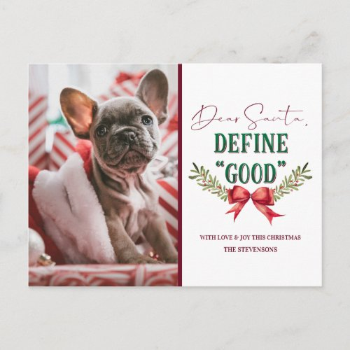 Dear Santa Define