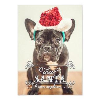 Dear Santa We Can Explain Holidays Photo Cards Custom Invite