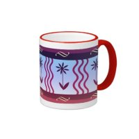 Decorative Kitchen Coffee Mug Floral