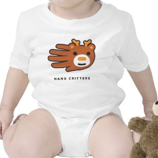 Deer baby t-shirt bodysuit