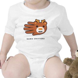 Deer baby t-shirt bodysuit