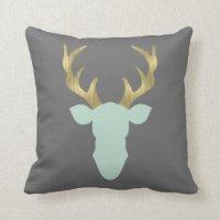 Deer Pillows - Decorative & Throw Pillows | Zazzle