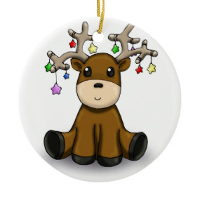 Deers Christmas Ornament