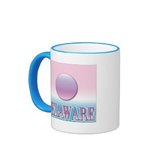 Delaware Airbrush Sunset Mug