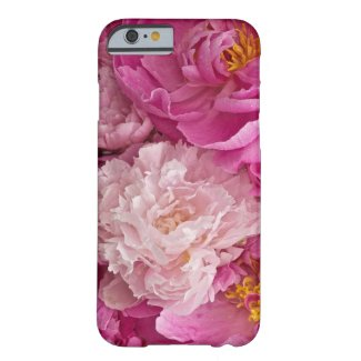 Delicate Pink Peony Girlish I Phone 6 Case Barely There iPhone 6 Case