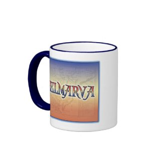 DelMarVa Antique Map Coffee Mug