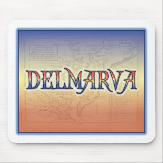 DelMarVa Antique Map Mousepads