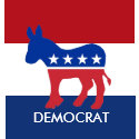 Democrat Button zazzle_button