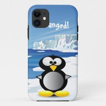 Deranged Penguin iPhone 11 Case