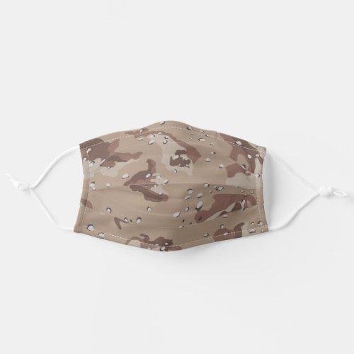 Desert Camo Pattern Adult Cloth Face Mask