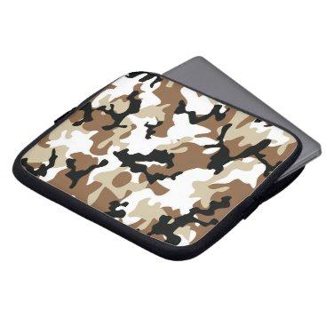 Desert Military Camo Laptop Sleeve