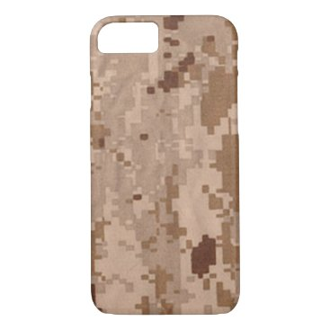 Desert Military Camouflage iPhone 8/7 Case