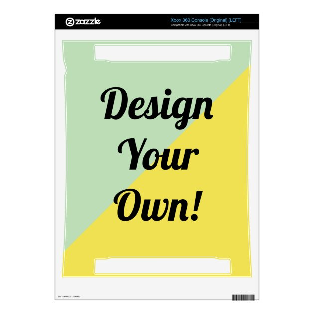 Design Your Customized Gifts Xbox 360 Console Decal