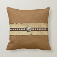 Designer Throw Pillows Country Western Style!