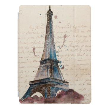 Destinations | Letters From The Eiffel Tower iPad Pro Cover