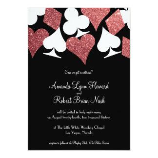 Navy Blue Gray Las Vegas Themed Antique Airline Ticket Wedding Invitations