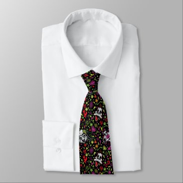 Día De Los Muertos LOONEY TUNES™ Pattern Neck Tie