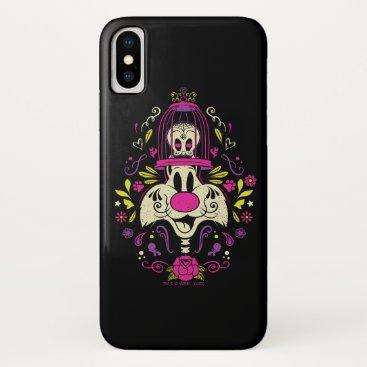 Día De Los Muertos TWEETY™ & SYLVESTER™ iPhone X Case