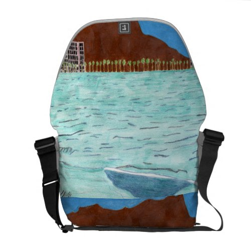 Diamond Head by Julia Hanna-The Bag rickshawmessengerbag